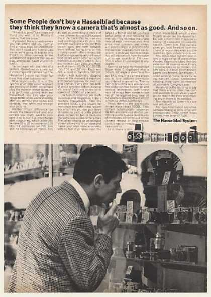 Hasselblad System Camera Some People Don't Buy (1968)
