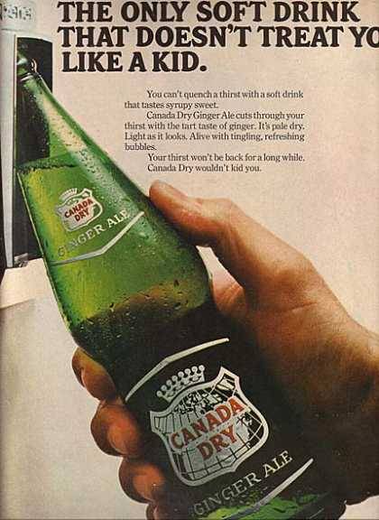 Canada Dry's Ginger Ale (1966)