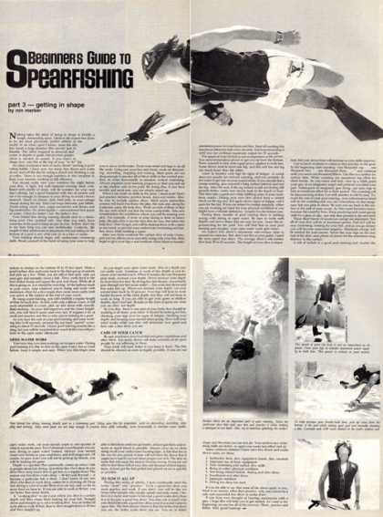 Beginners Guide To Spearfishing Article T (1978)