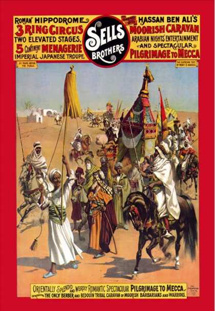 Pilgrimage to Mecca: Sells Brothers Circus