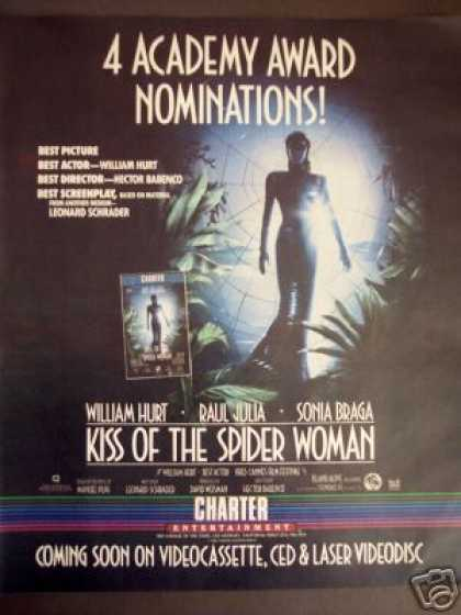 Kiss of the Spider Woman Movie Video Promo (1986)