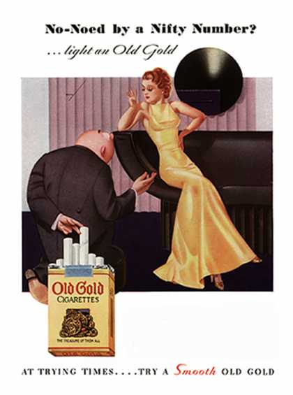 Old Gold – George Petty – c. (1935)