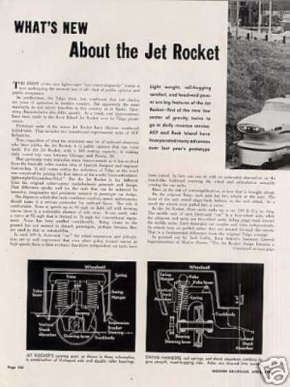"""""""What's New About the Jet Rocket"""" Article/ri (1956)"""