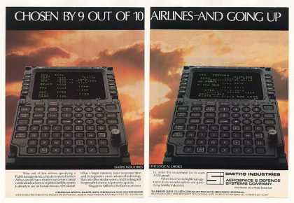 Smiths Industries Aircraft Computer System 2-Pg (1983)