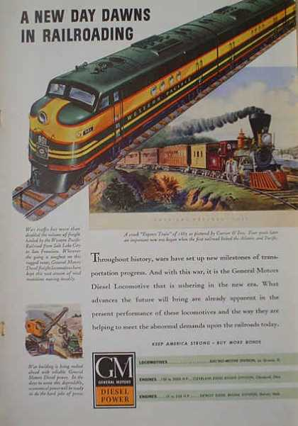 GM Diesel Western Pacific Rail AND Bell & Howell Opti-onics (1941)