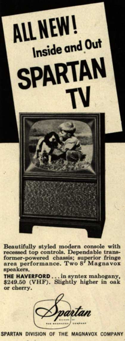 Spartan's Television – All New! Inside and Out, Spartan TV (1956)