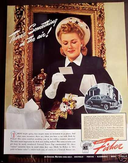 Body By Fisher On General Motors Cars (1941)