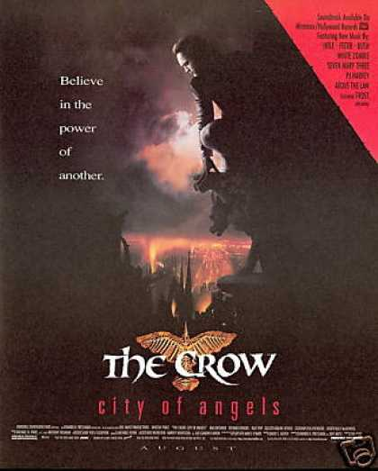 The Crow City of Angels Movie Record Promo (1996)