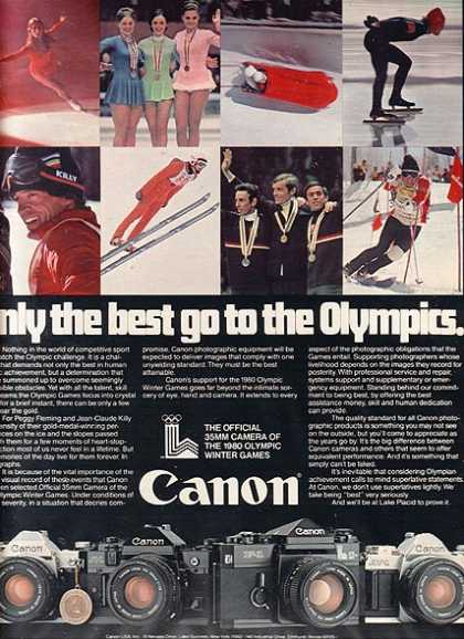 Canon's The Official 35mm Camera of the 1980 Olympic Winter Games (1979)