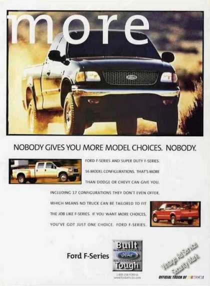 Ford F-series Pick Up Truck (1999)