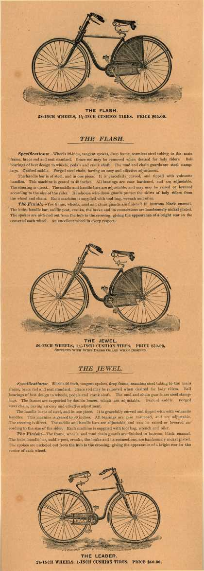 Stokes Mfg. Co.'s Stokes Bicycles – Special Notice