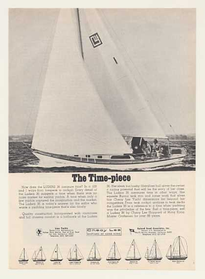 Cheoy Lee Luders 36 Sailboat Yacht Photo (1969)