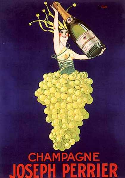 Chapagne Joseph Perrier by J. Stall (1930)