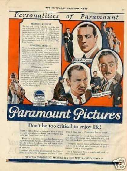 Paramount Pictures Color (1925)