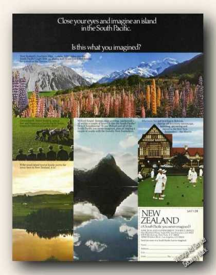 New Zealand Is This What You Imagined? Travel (1978)