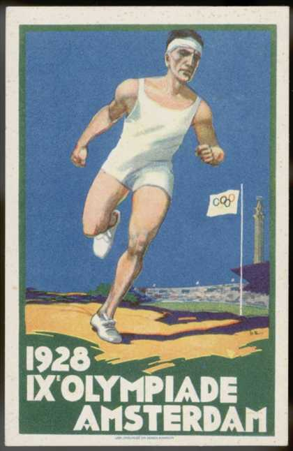Poster for the Amsterdam Games