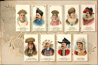 W. Duke Sons & Co. – Costumes of All Nations – Image 5 (1888)