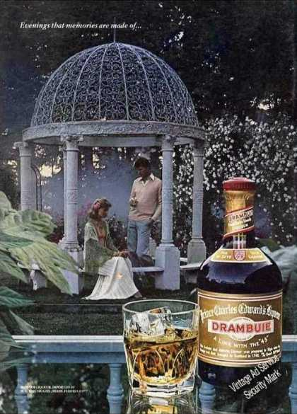 """Drambuie """"Evenings That Memories Are Made Of"""" (1978)"""