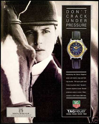 Tagheuer Watch Horse Equestrian Tag-Heuer Photo (1994)