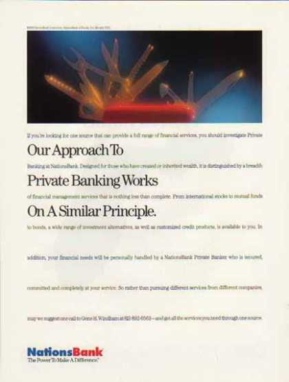 Nations Bank – Our Approach (1992)