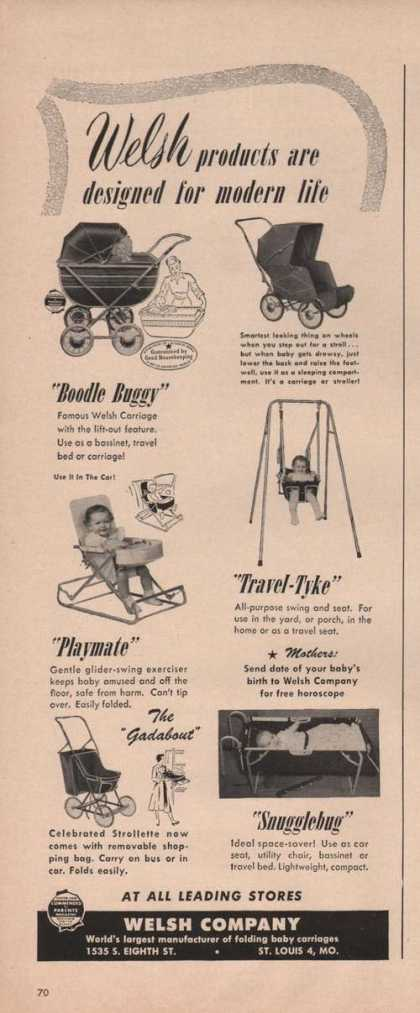 Welsh Company Boodle Buggy Children (1949)