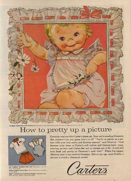 """Carter's """"How to pretty up a picture"""" (1959)"""
