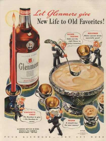 Let Glenmore Give New Life To Old Favorite (1942)