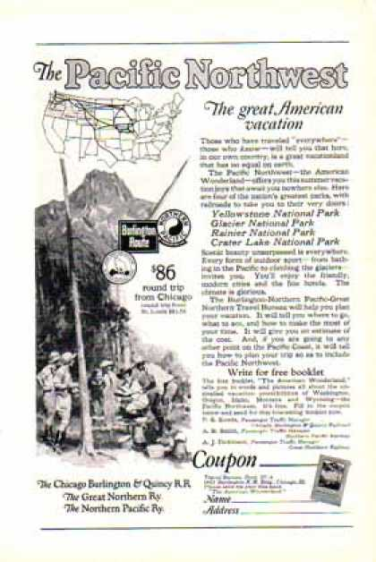 Pacific Northwest Train – National Parks (1924)