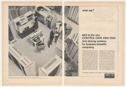 Control Data 3300 Time-Sharing Computer Sys 2-P (1965)