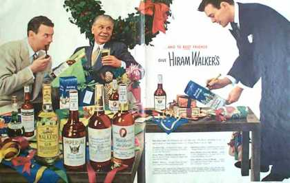 Hiram Walkers Holiday – 2 Pages (1949)