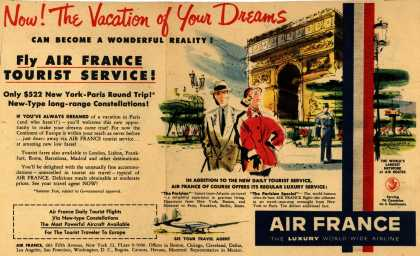 Air France – Now! the Vacation of Your Dreams (1952)