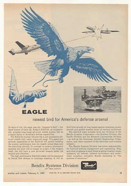 Bendix Eagle Air-to-Air Missile System (1959)