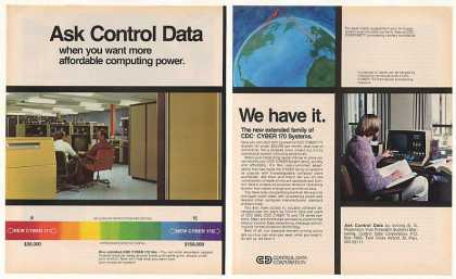 Control Data CDC CYBER 170 Computer Systems 2-P (1977)