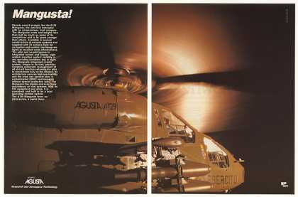 Agusta A129 Mangusta Anti-Tank Helicopter (1986)