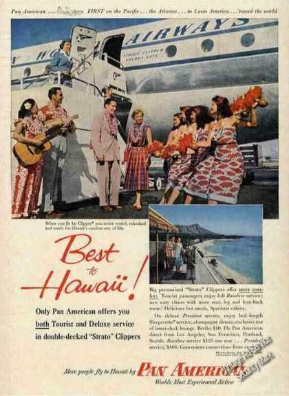 """Pan American Double-decked """"Strato"""" Clippers (1954)"""