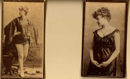 [W. Duke Sons & Co.]'s [Cigarettes] – Actresses – Large Cards – Image 7
