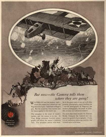 Kodak – But now – the Camera tells them where they are going (1918)