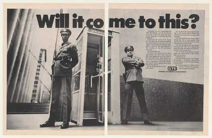 '72 GTE Telephone Booth Vandalism Security Guards 2P (1972)