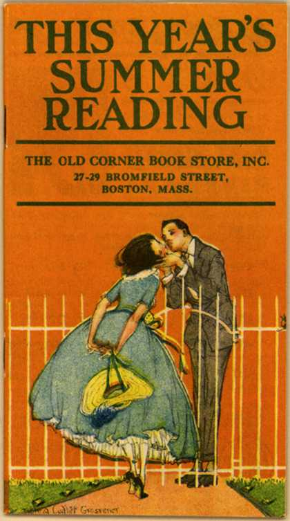 Old Corner Book Store's This Year's Best Fiction – This Year's Summer Reading