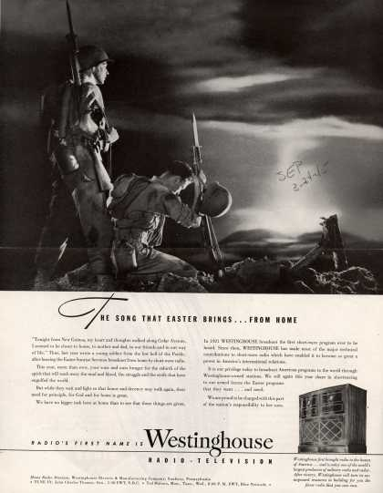 Westinghouse Electric & Manufacturing Company's Various – The Song that Easter Brings... From Home (1945)