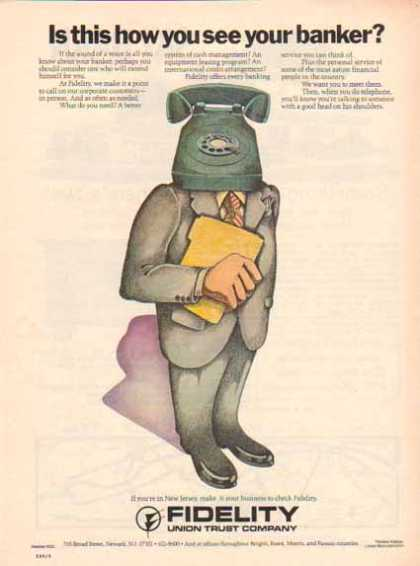 Fidelity Union Trust Bank – How you see your banker (1976)