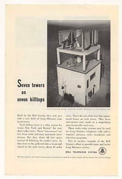 Bell Telephone Microwave Relay Station Tower (1947)