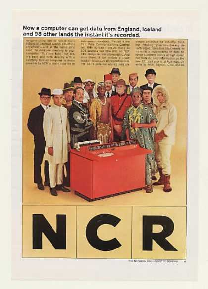 NCR 321 Data Comm Controller 315 Computer (1964)