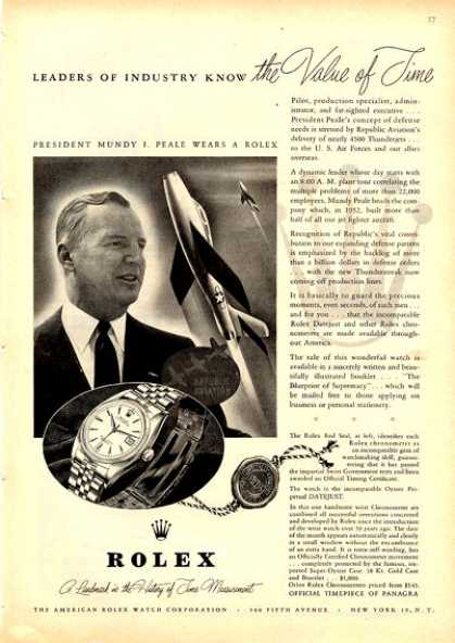 Rolex Oyster Perpetual Watch (1953)