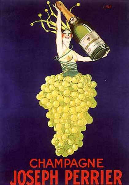Champagne Joseph Perrier by J. Stall (1930)