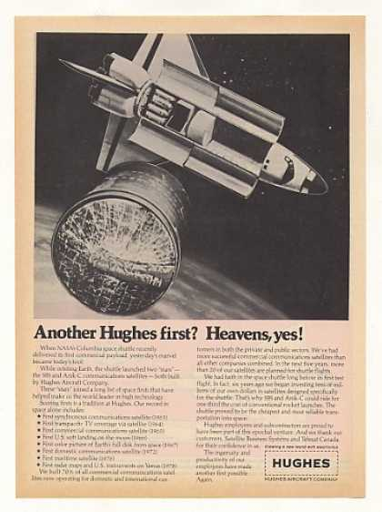 Hughes Aircraft Space Communications Satellite (1982)