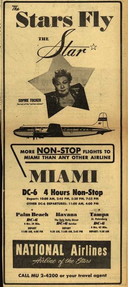National Airline's Star – The Stars Fly The Star (1951)