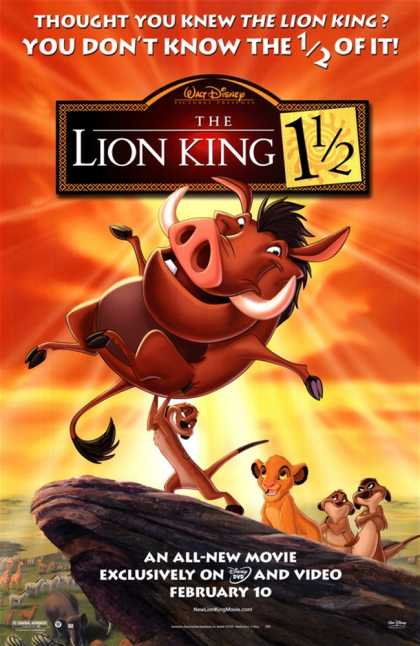 The Lion King 1-1/2 (2004)