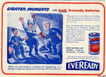 National Carbon Company's Everyeady Batteries (1944)