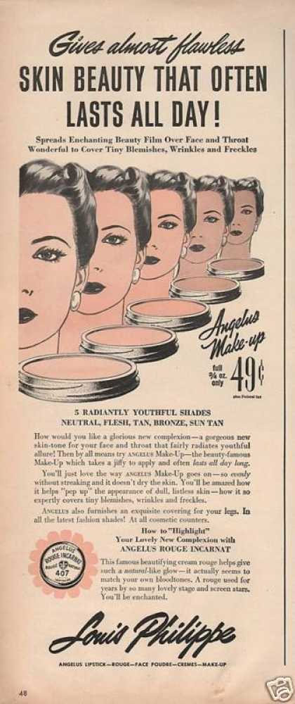 Louis Philippe Face Rouge for Women (1943)